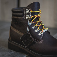 Timberland PRM Waterproof Boot Junior's - DK Brown Full Grain