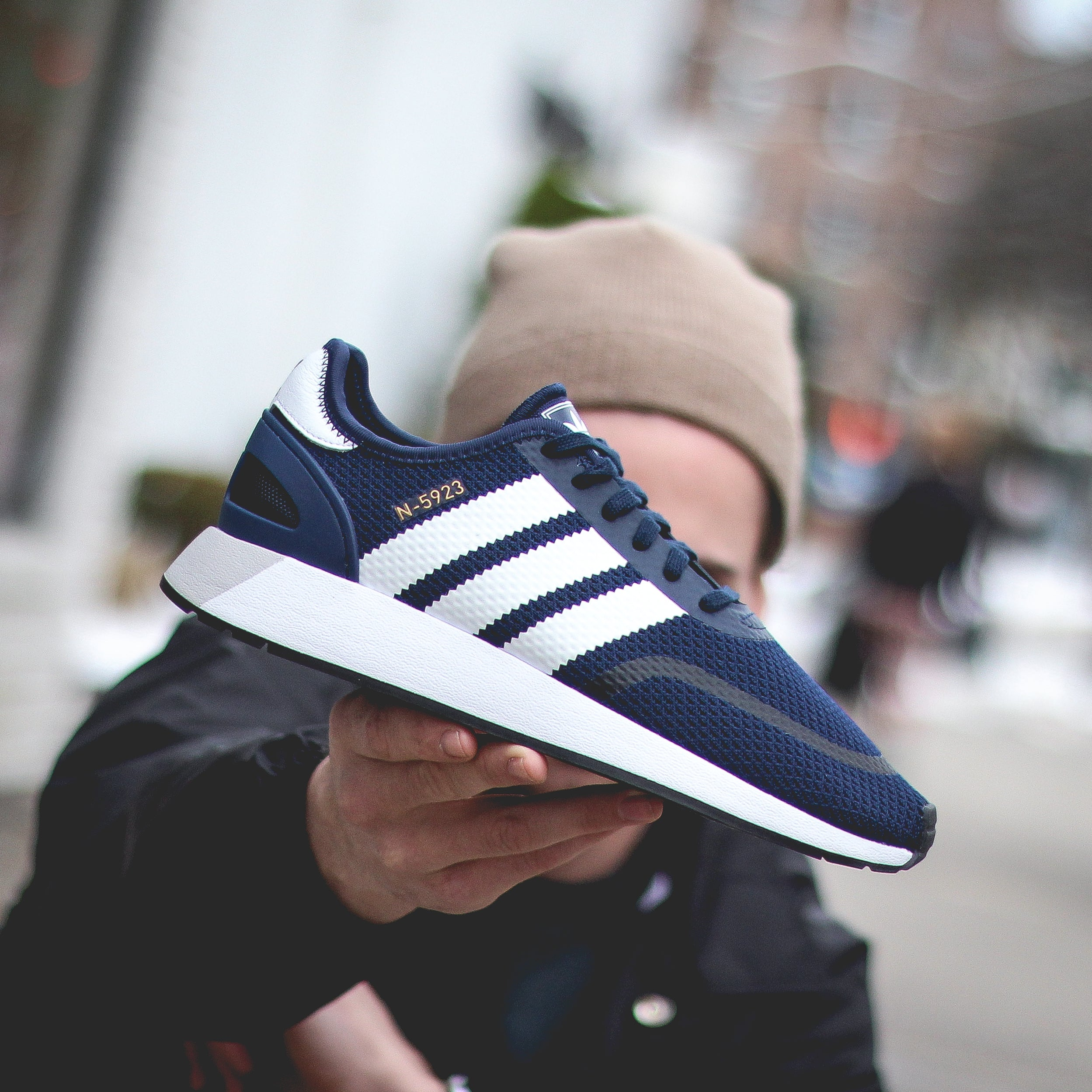 bbab49645a5 Adidas N-5923 - Navy – History of New York Powered by  Sneaker Lounge