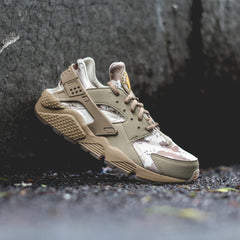 NIKE Air Huarache Run Camo 'Cargo Khaki'