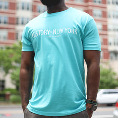New York Coordinates T - Teal