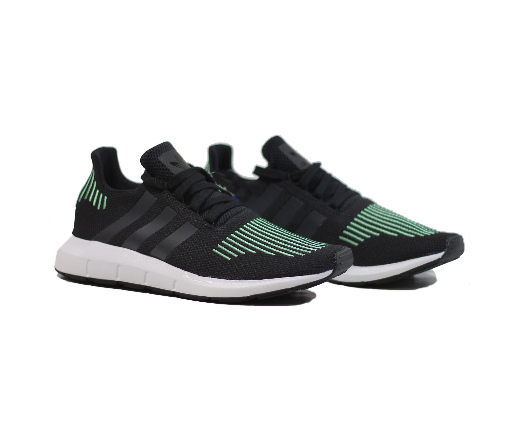 7264302d160 Adidas Swift Run - Black Green – History of New York Powered by  Sneaker  Lounge