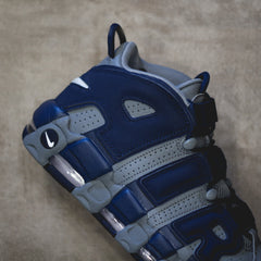 NIKE Air More Uptempo - Cool Grey/White-Midnight Navy
