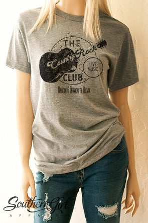 The Country Rock Club T-Shirt T-Shirts - SouthernGirlApparel.com