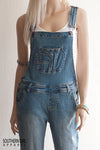 Women's Denim Bib Overall Pants