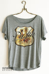 Desert Drifter Scoop Neck Dolman Top graphic tees - SouthernGirlApparel.com