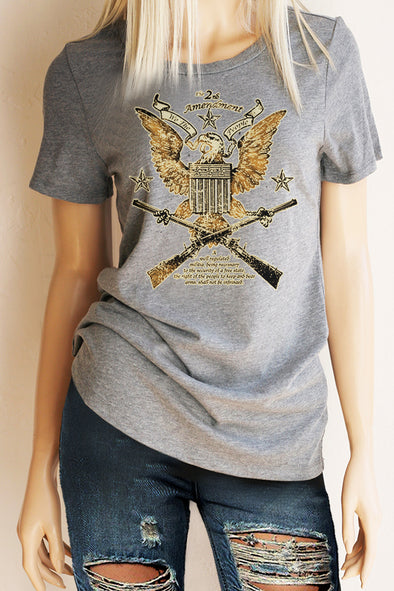 2nd Amendment T-Shirt - Southern Girl Apparel® - southerngirlapparel.com