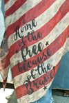 THANK YOU VETS American Flag Vest - Southern Girl