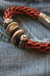 Metal Bead and Leather Bracelet jewelry - SouthernGirlApparel.com