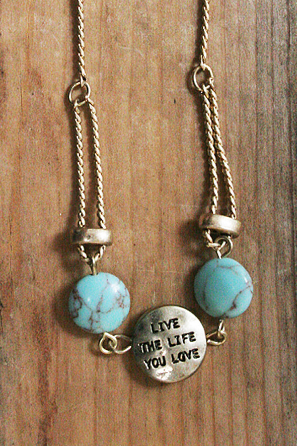 Live The Life You Love Adjustable Bracelet jewelry - SouthernGirlApparel.com