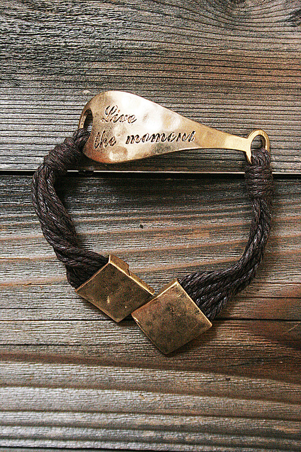 Live The Moment Bracelet jewelry - SouthernGirlApparel.com