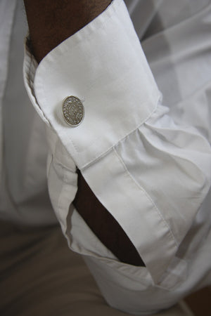 Victorian Sixpence Cufflinks