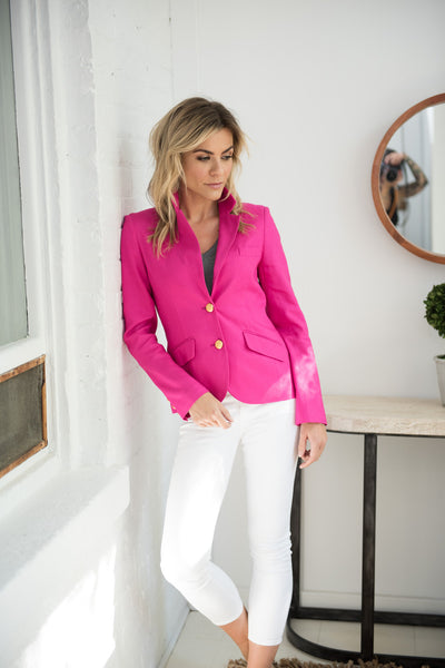 Cambridge Blazer in Dahlia