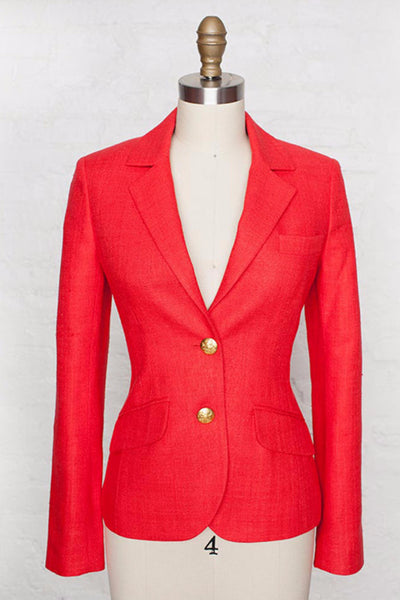 Two Penny Blue Cambridge Red Blazer