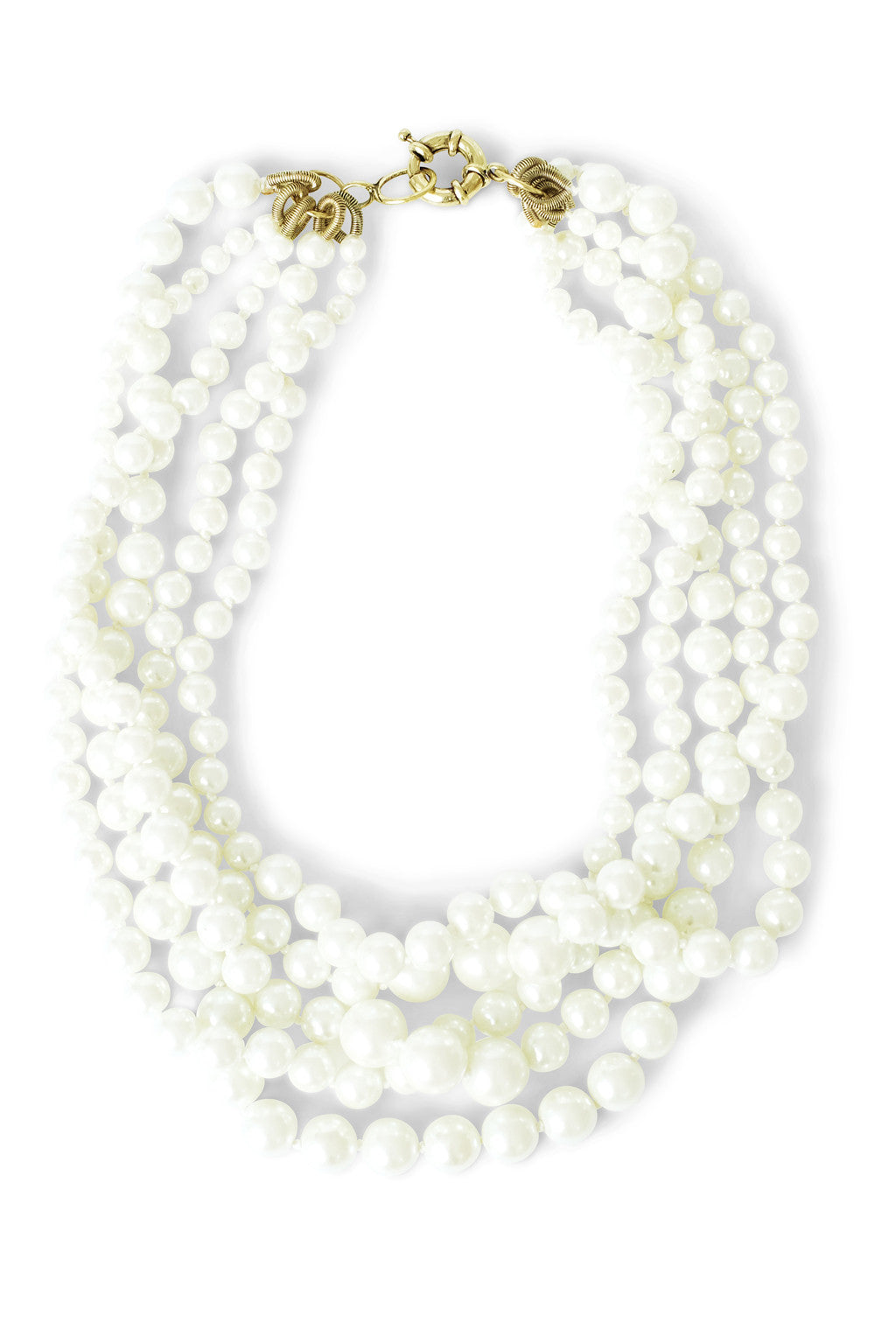 Classic Layered Pearl Necklace
