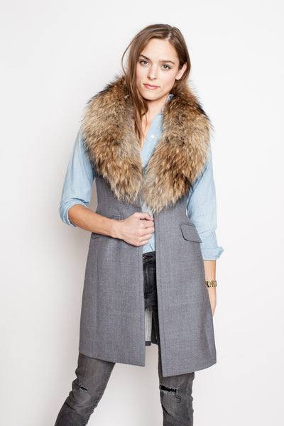 Two Penny Blue Celeste The Vest