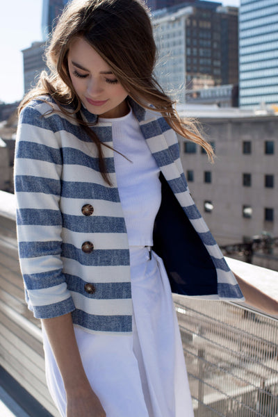 Margot Striped Jacket