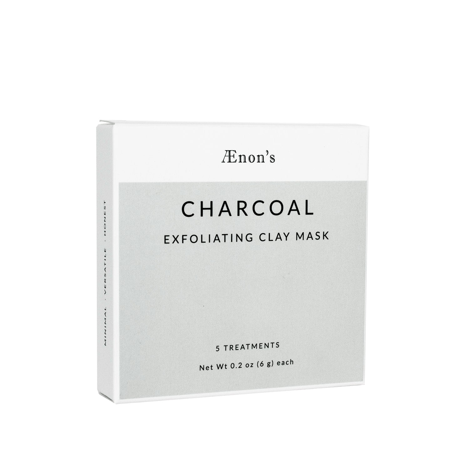 AEnon's - Charcoal Exfoliating Clay Mask