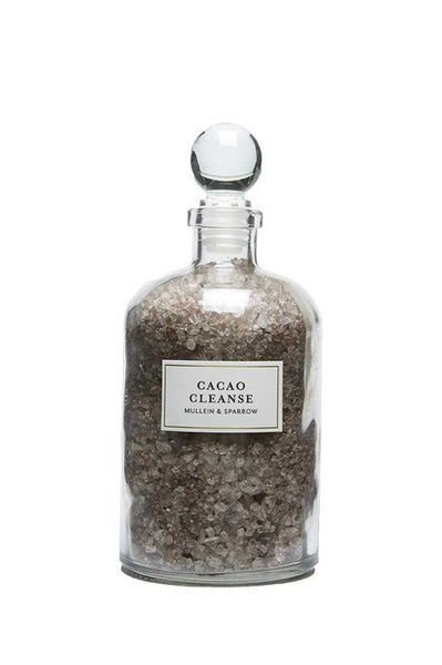 Cacao Cleanse Bath Salts - Two Penny Blue