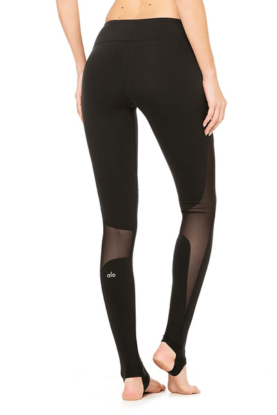 Coast Legging in Black - Two Penny Blue