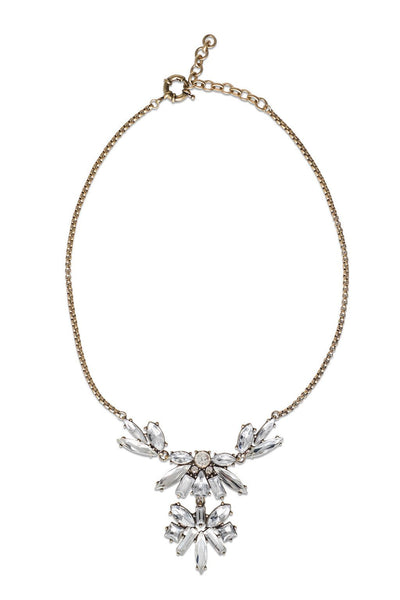 Hepburn Marquise necklace - Two Penny Blue