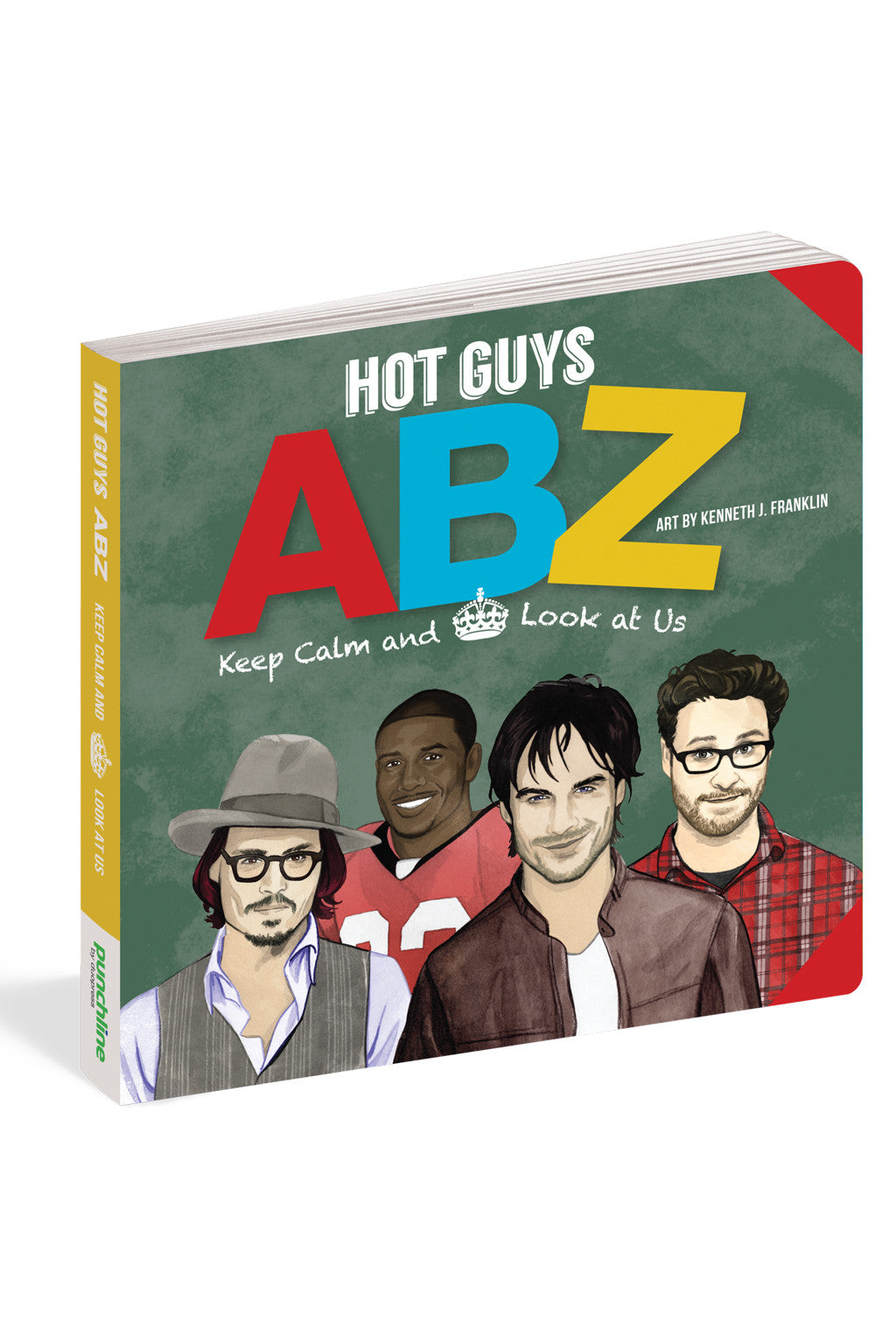 Hot Guys Abz Book