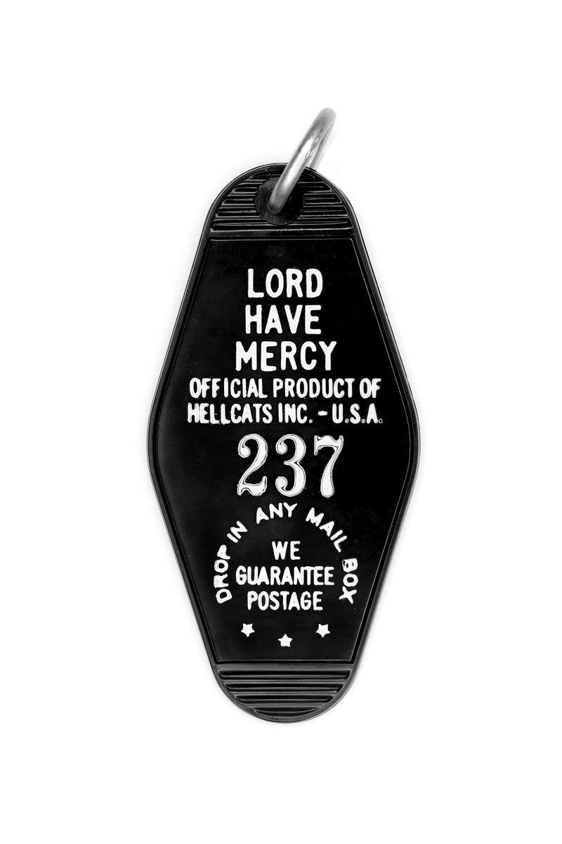 Lord Have Mercy Key Tag - Two Penny Blue