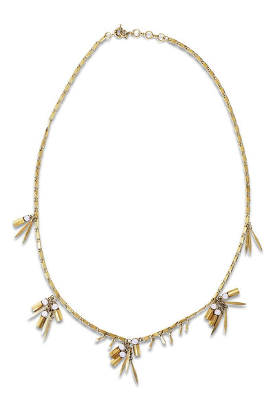 Stella Cadente Necklace - Two Penny Blue