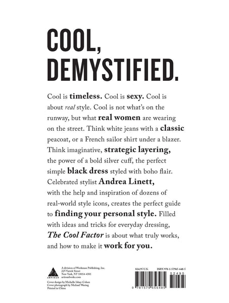 The Cool Factor Book - Two Penny Blue