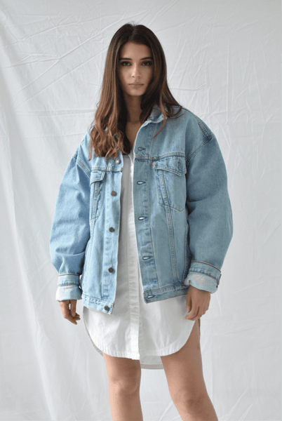 Vintage Denim Jacket - Two Penny Blue