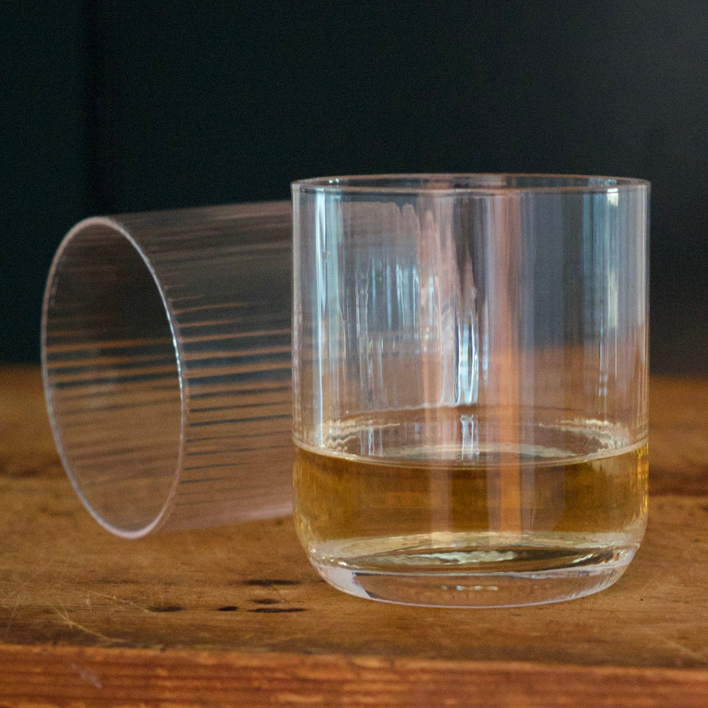Linear Low Ball Glassware