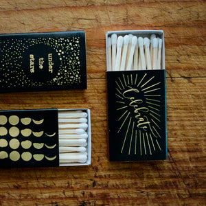 Foil Pressed Matchboxes