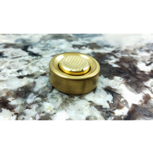 Mini Spinner - Brass Buttons