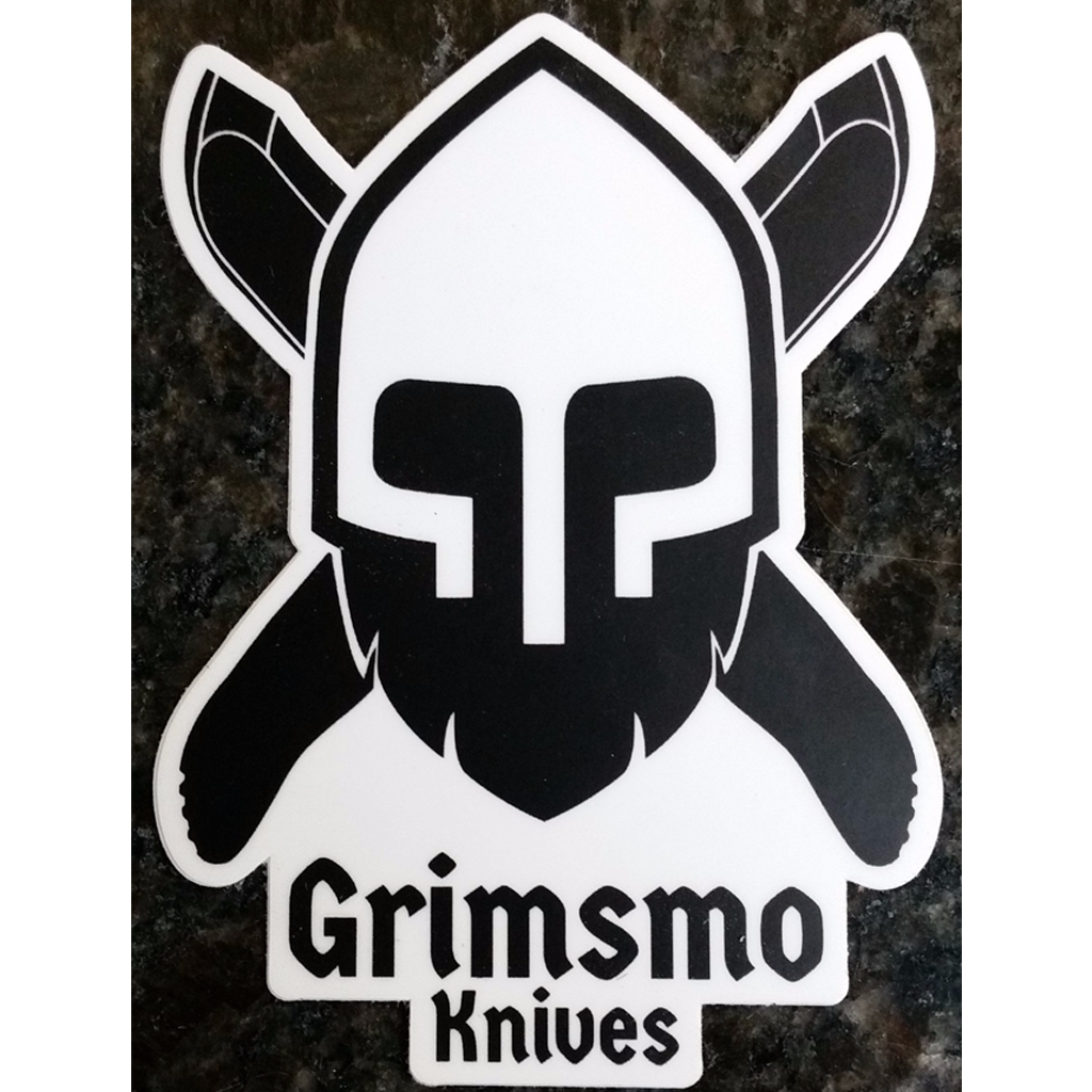 Norseman Sticker - White and Black
