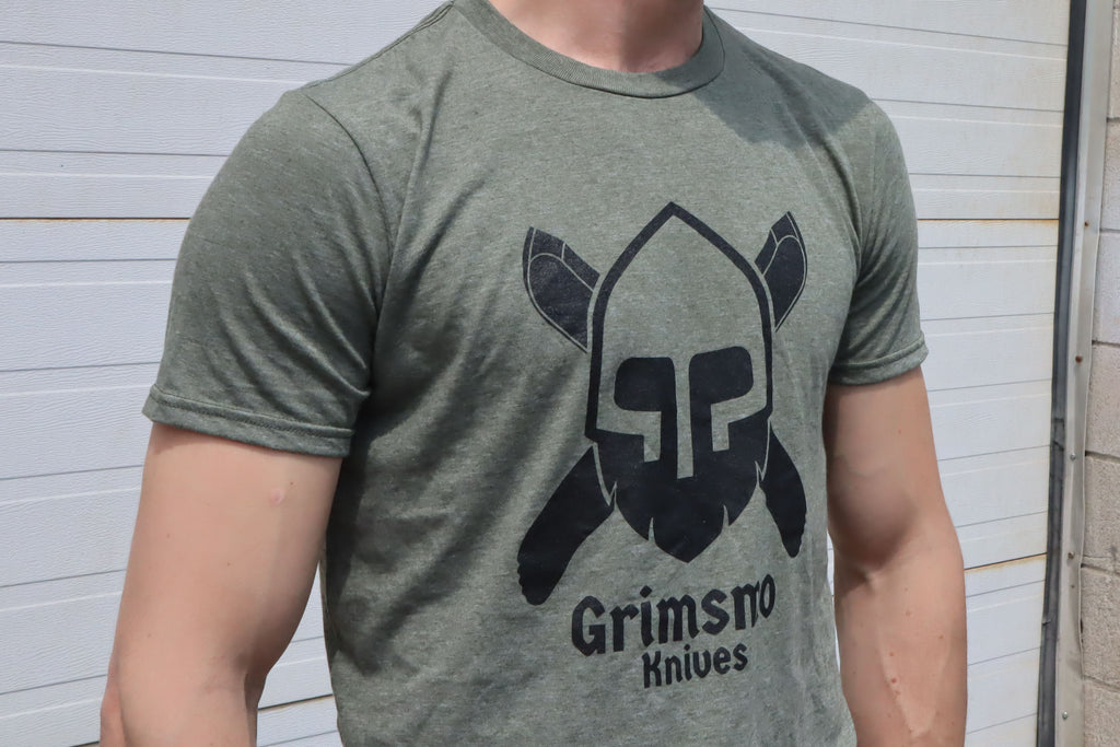 Grimsmo Knives T-Shirt - Green