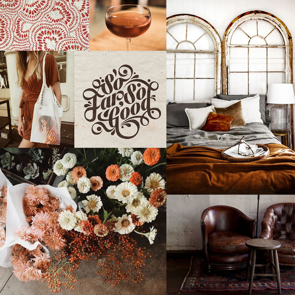 mood board Pinterest camille co luxury soaps and soy candles Auckland New Zealand
