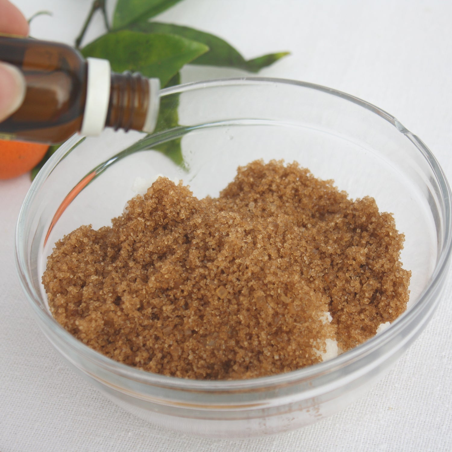 how to make your own coconut sugar scrub camille co blog post