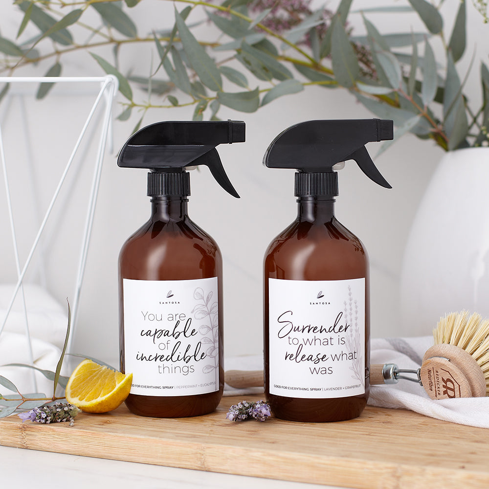 good for everything natural cleaning spray Santosa Christmas gift guide Camille Co. NZ made products