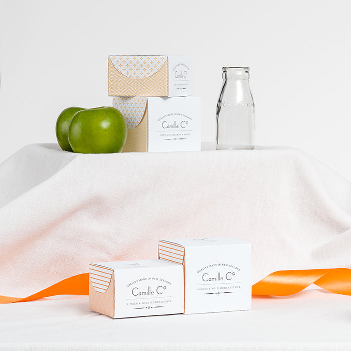 Camille Co. range New Zealand made luxury soaps and soy candles