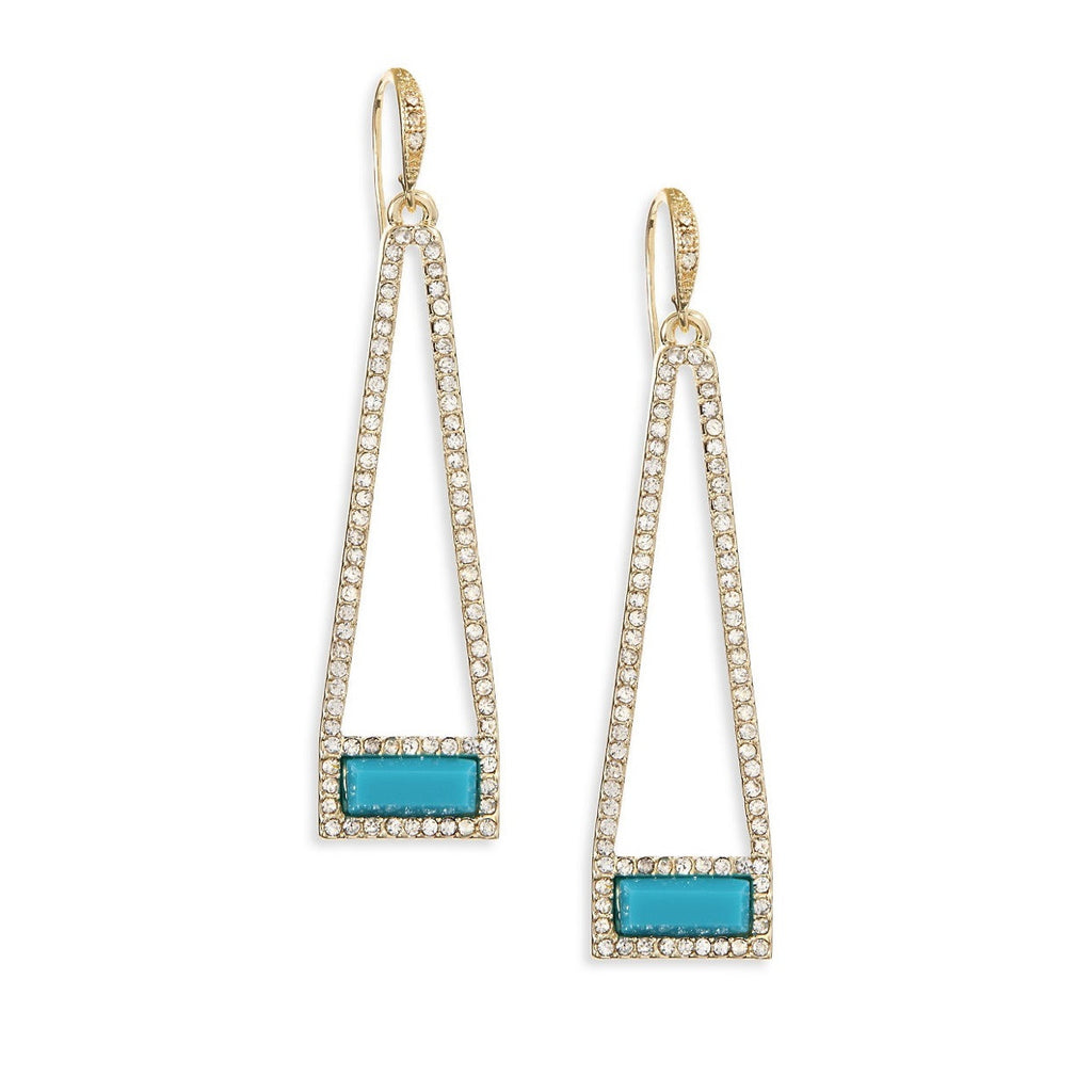 A.B.S. BY ALLEN SCHWARTZ Trapeze Bar Earrings