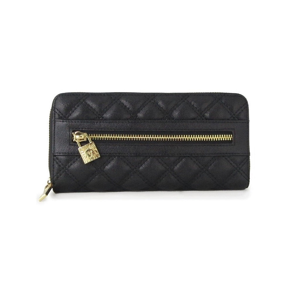 Anne Klein Shimmer Down Black Quilted Wallet - Bijoux Closet : black quilted wallet - Adamdwight.com
