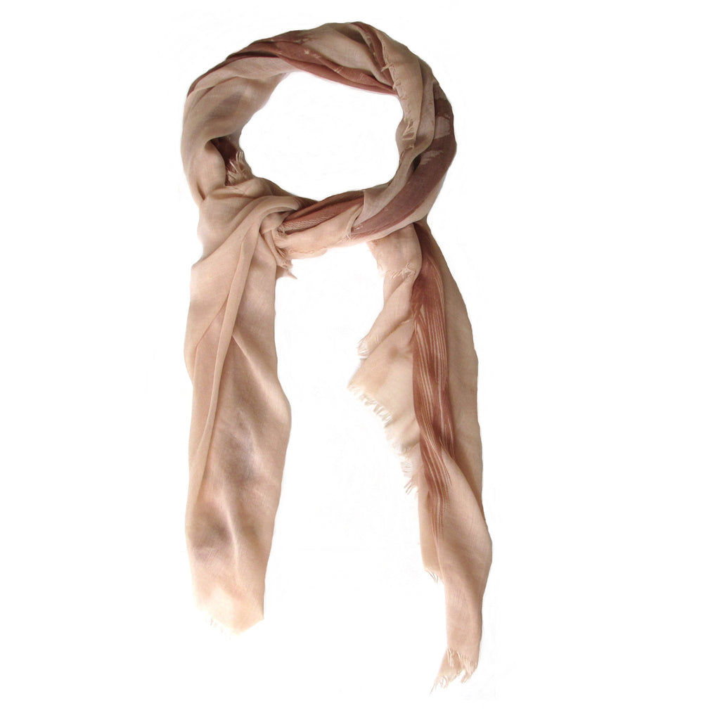 BCBGMAXAZRIA Feather Print Scarf