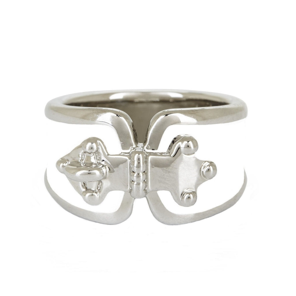 BCBG Buckle Hardware Ring Top View