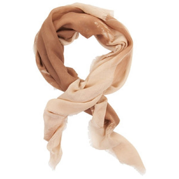 BCBGMAXAZRIA Feather Print Scarf Pair with neutral favorites for a classic look that really pops.
