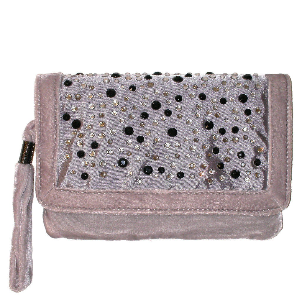 BCBGeneration Regan Jeweled Wristlet