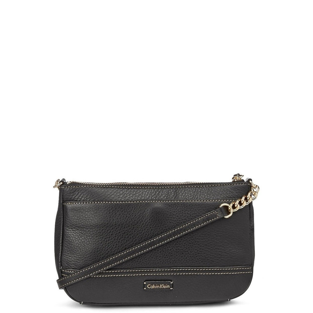 CALVIN KLEIN Mary Tassel Zip Handbag Back View