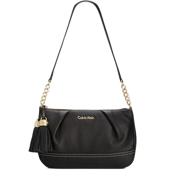 CALVIN KLEIN Mary Tassel Zip Handbag With Shoulder Strap View