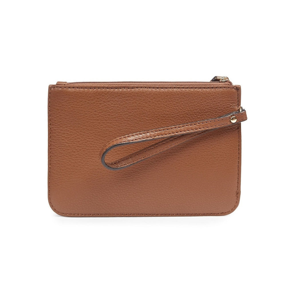 CALVIN KLEIN Signature Solid Wristlet - Back View