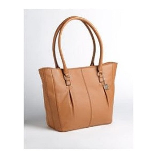 Calvin Klein Alpine Pebbled Leather Tote