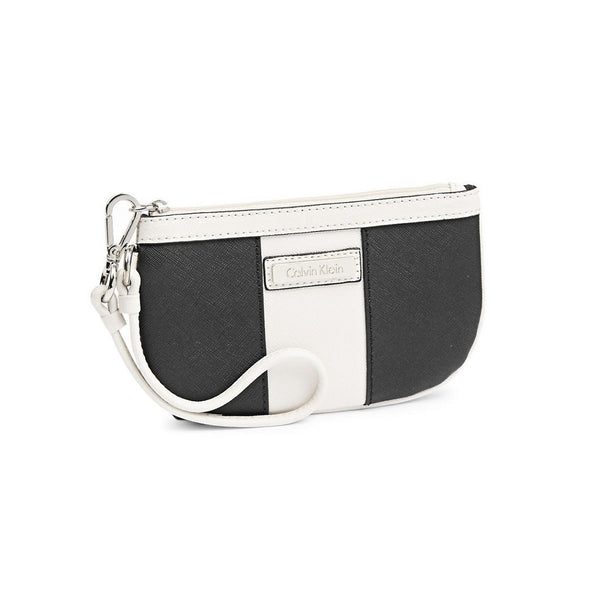Calvin Klein Saffiano Leather Wristlet
