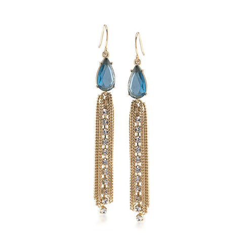 Carolee Tassel Drop Earrings